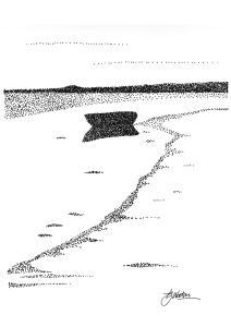 Lone Boat, River Lossie