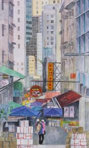Street in Central, HK.
