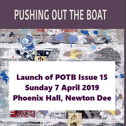 Launch event for POTB Issue 15