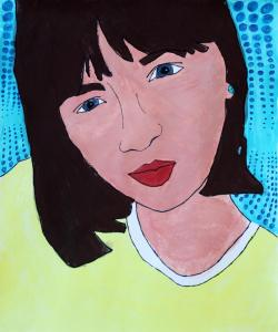 Pop Art Inspired Self Portrait