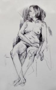 life drawing in biro