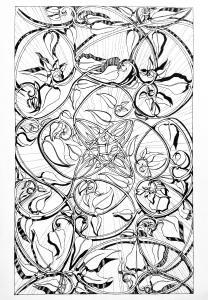 Carpet Page, Golden Spirals